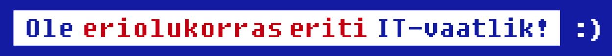 IT-vaatlik banner